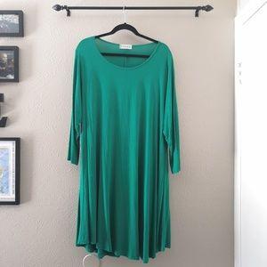 Larace Casual 3/4 Sleeve T-Shirt Dress